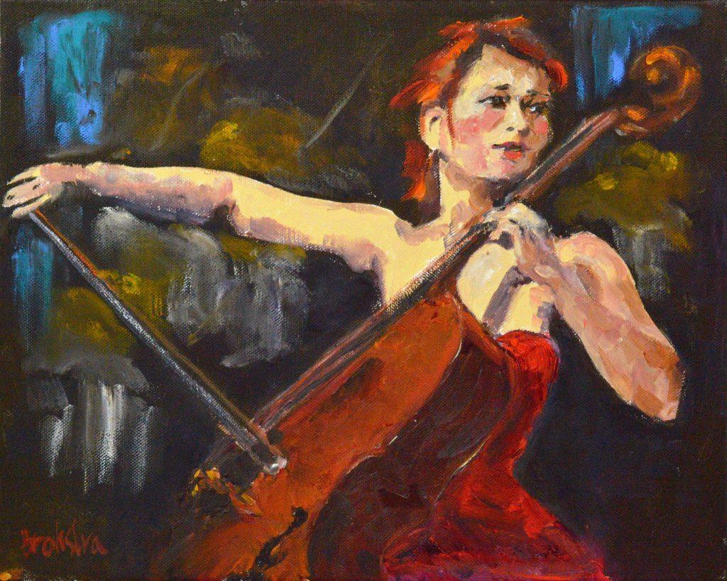Anke-Brokstra_Celliste-voor-orkest-50-x-60-2015