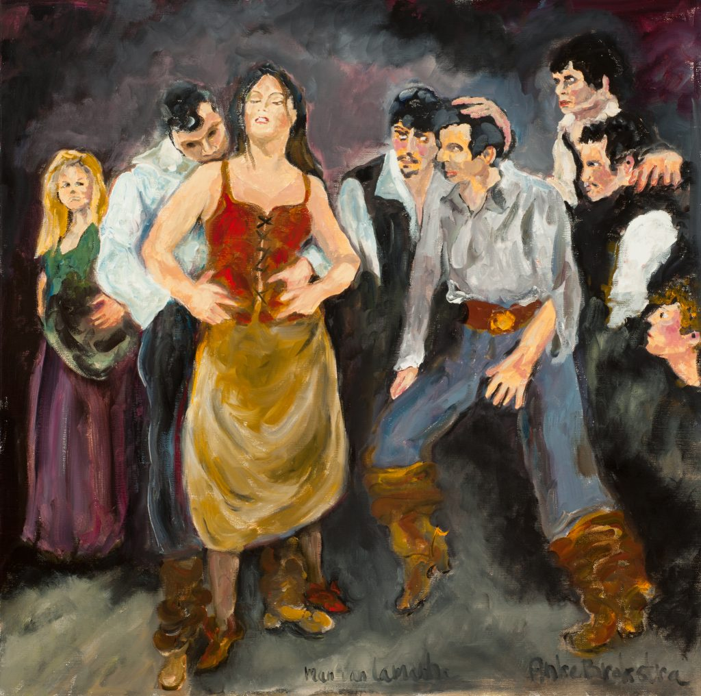 Anke-Brokstra_Zelfportret-in-Man-van-La-Mancha-musical-cast-100-x-100-1968